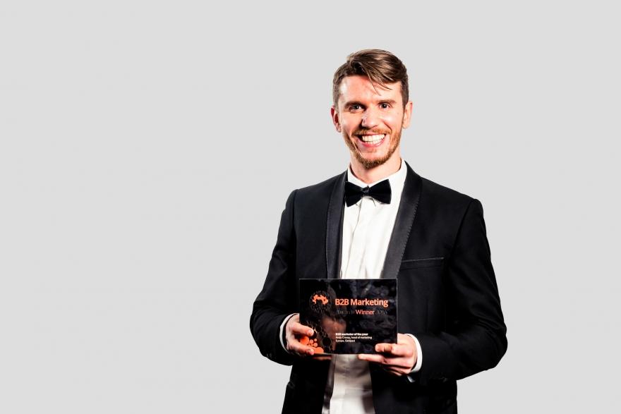 B2B Marketing marketer of the year winner 2016