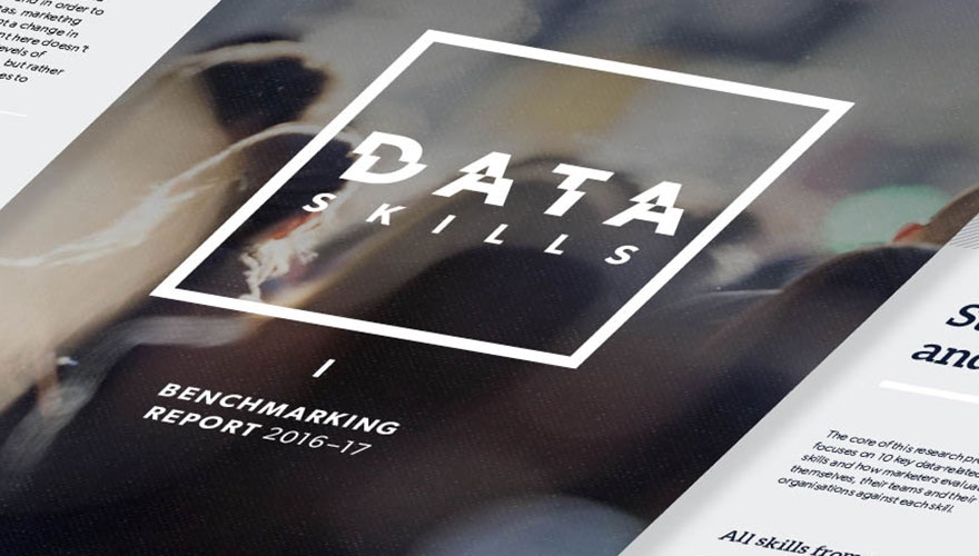 B2B Marketing's Data Skills Benchmarking Report Infographic
