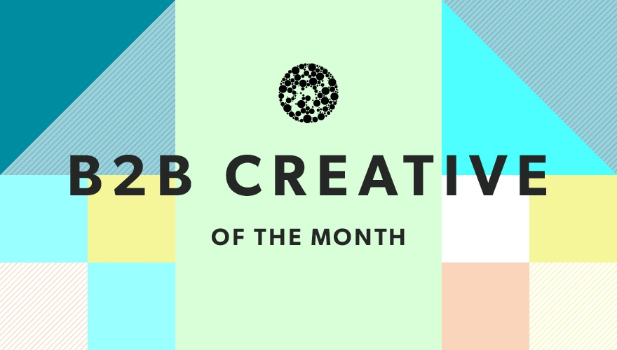 B2B creative: April 2016 image