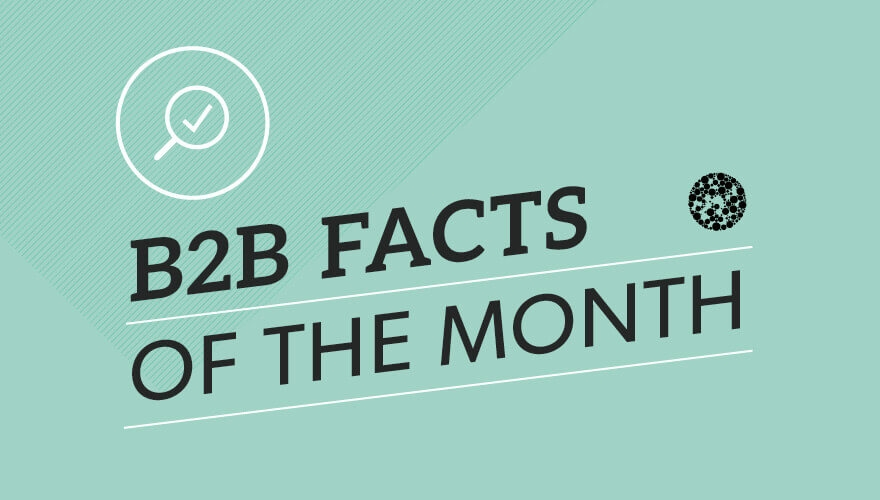 Infographic: B2B facts of the month image