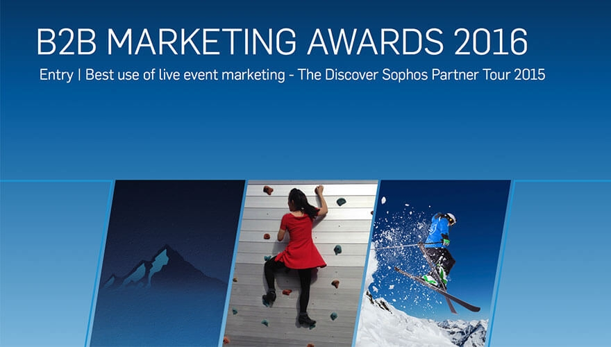 Awards case study: Sophos doubles pipeline through live event marketing and customer engagement image