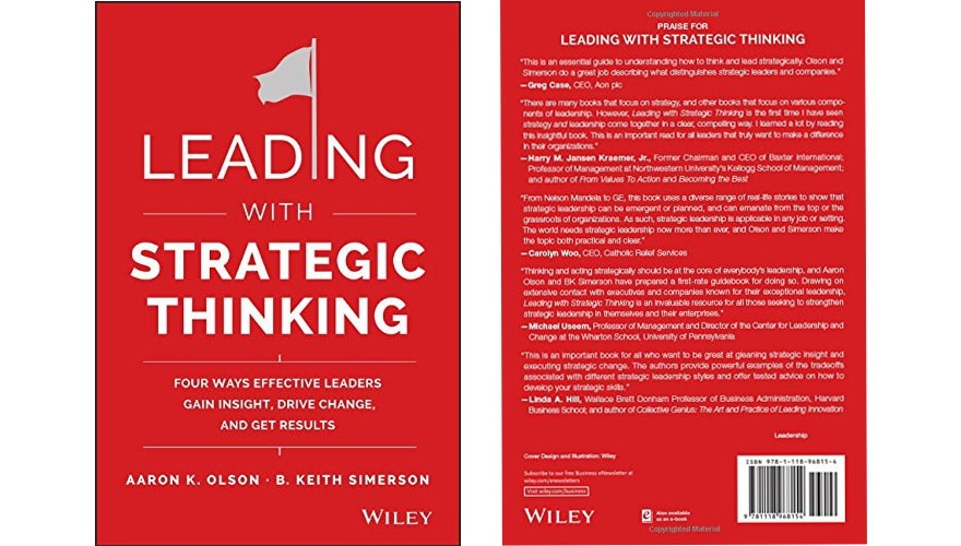 Book Review: Leading with strategic thinking