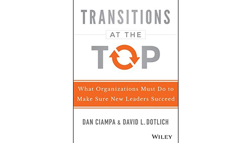 Book Review: Transitions at the top - What organisations must do to make sure new leaders succeed