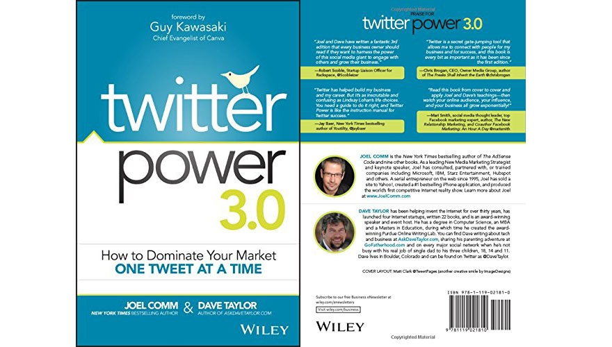 Book Review: Twitter power 3.0 - How to dominate your market one tweet at a time