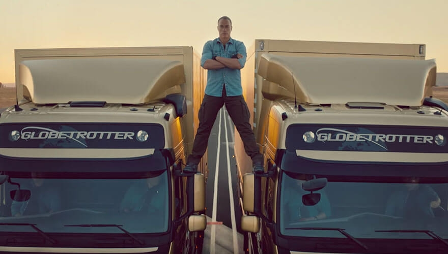 BRAND NEWS: Volvo Trucks launches 'The epic split' video image
