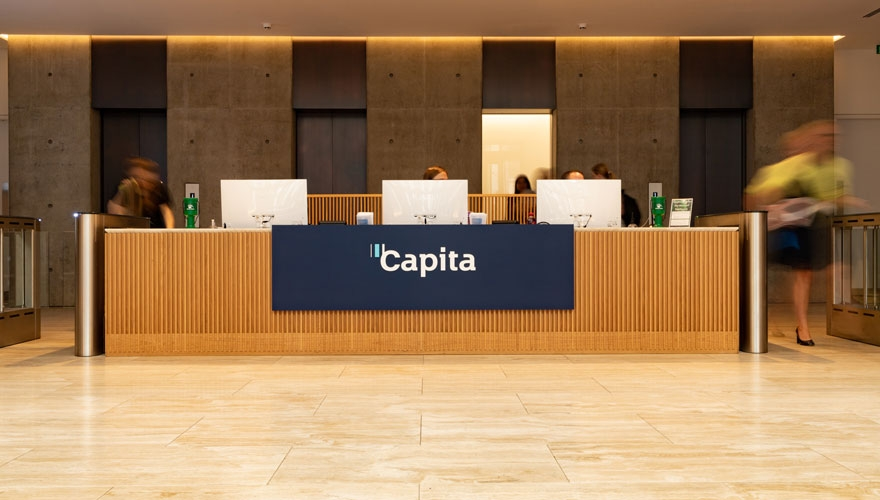 How Capita's rebrand is designed to shape perceptions and galvanise pride image