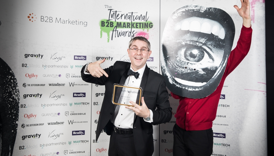 Awards case study: How Chris Harrop's commitment to sustainability and passion for British manufacturing led him to be named B2B Marketer of the Year image