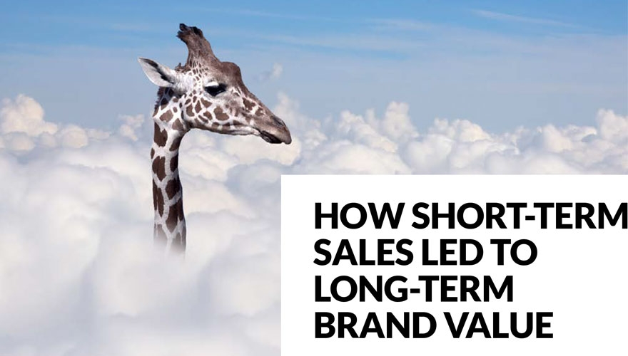 Awards case study: How short-term sales led to long-term brand value image