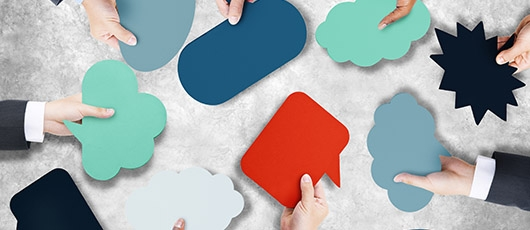 Speech bubbles: How to use expert comment in your web content