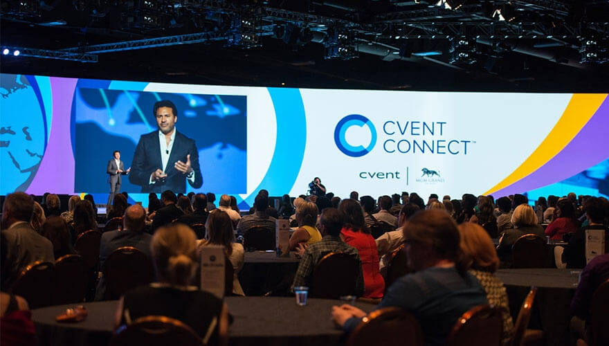 Cvent's conference brought to life with technology image