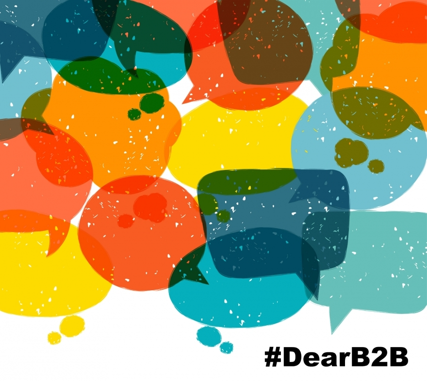 #DearB2B Delivering CX through social image