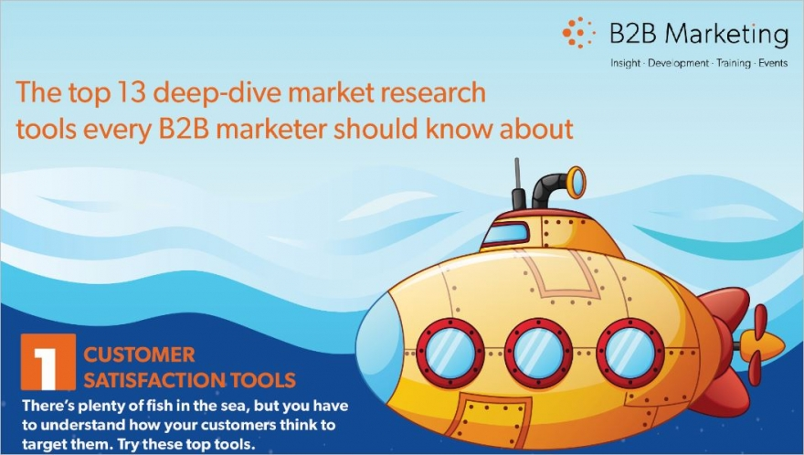 deep dive market research tools infographic header