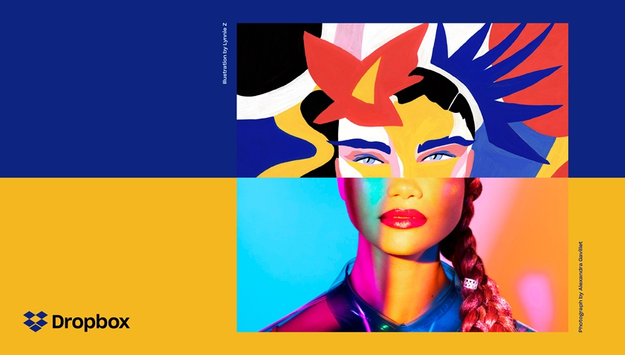 How Dropbox unleashed its creative energy with a rebrand image
