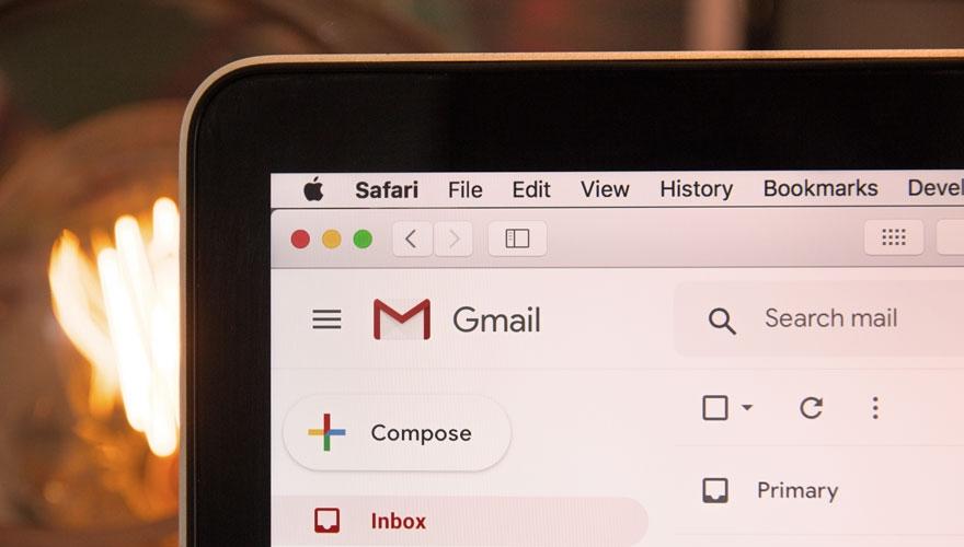 Image if gmail interface