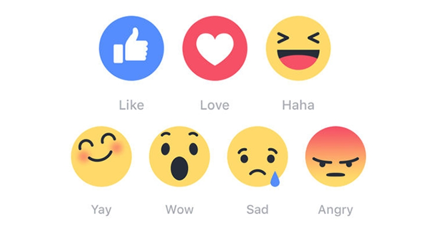 Facebook's emoji reaction feature a flop image