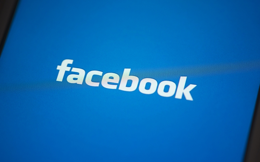 Facebook logo for business image