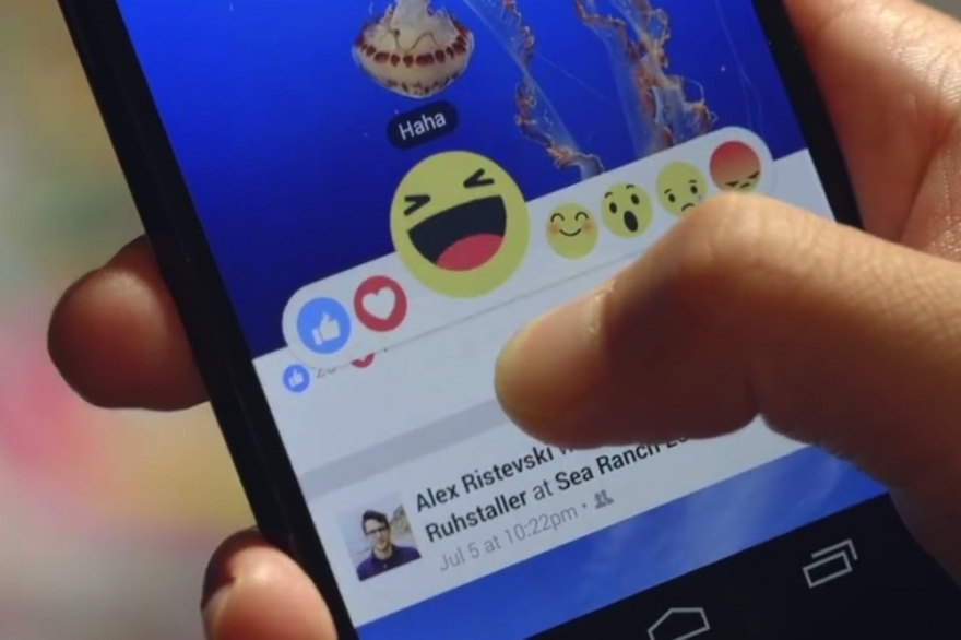 How Facebook Reactions will look