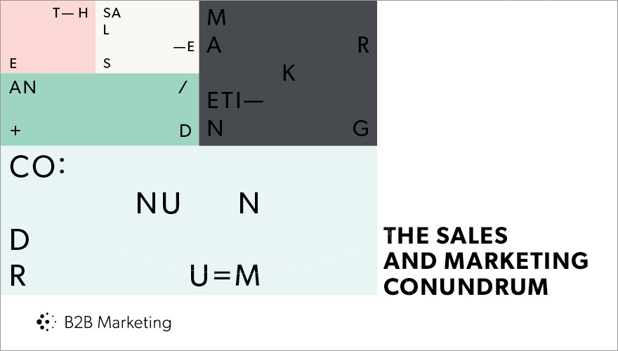 The sales/marketing conundrum: Four drastically different departmental structures image