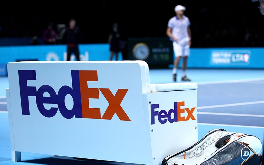 FedEx courts businesses with renewal of ATP World Tour sponsorship image