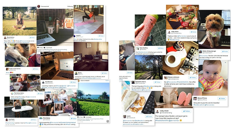 Find out how Powwownow smashed reach, engagement, and click-through targets through its 'smarter working' social media campaign image