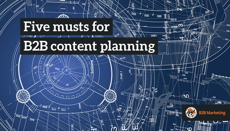 Five musts for getting content planning right image