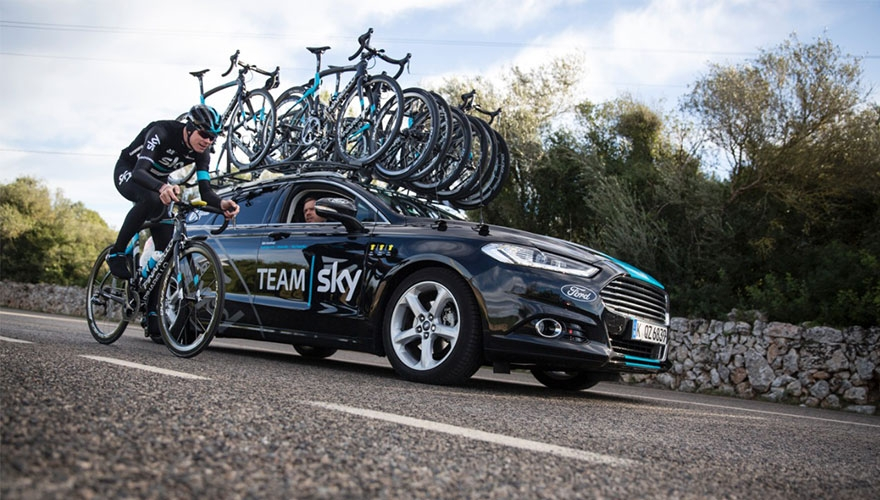 Ford partners with Team Sky
