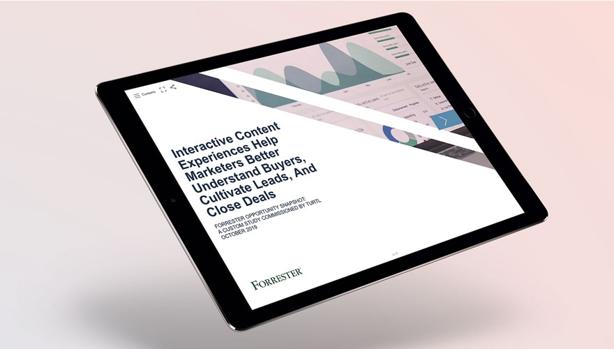 ipad with Forrester study