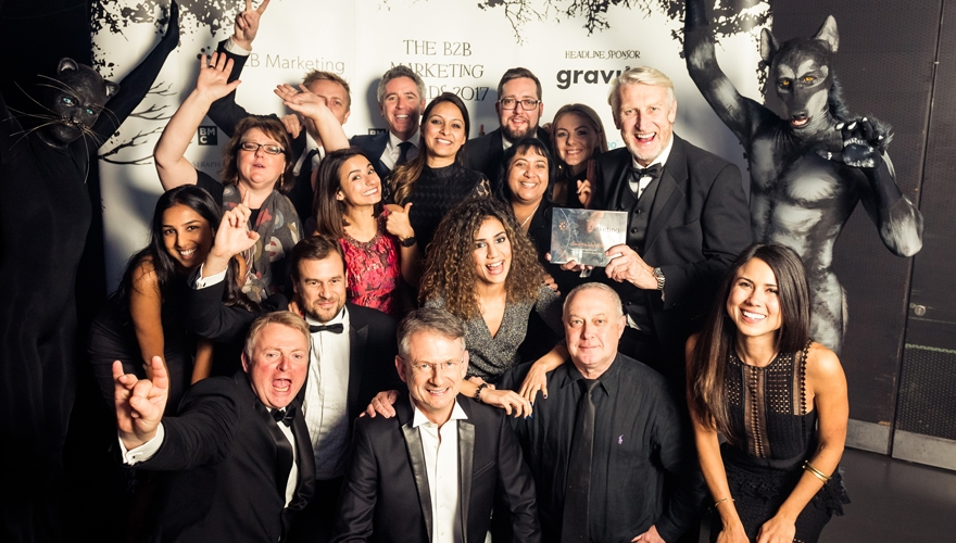 Gravity Global grabs Grand Prix as B2B Marketing Awards 2017 winners are revealed image