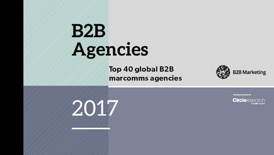 Top 40 global marcomms agencies 2016-17 image