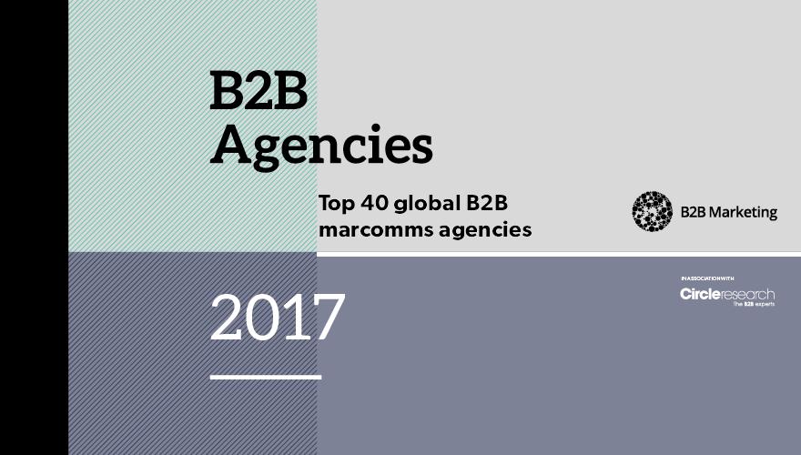 Top 40 global marcomms agencies 2016-17 image