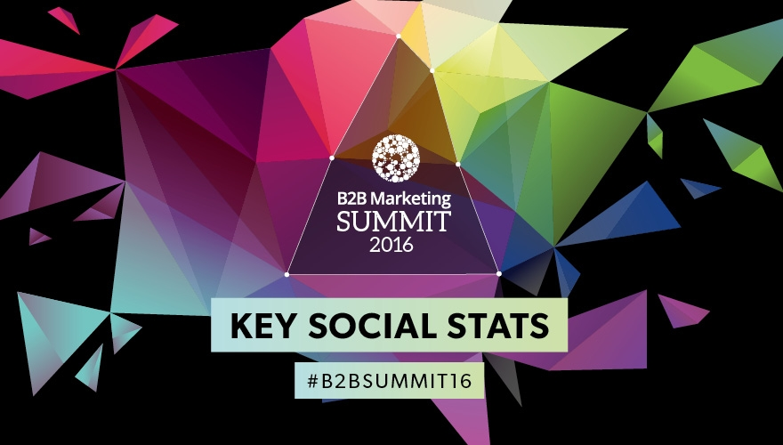 B2B Summit 2016: Key social stats (INFOGRAPHIC) image