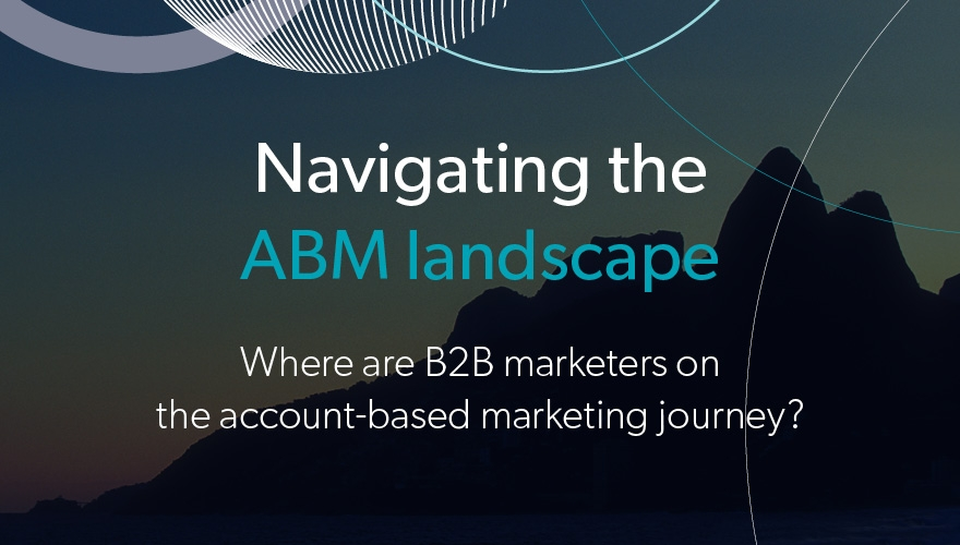 97% of B2B marketers say their messages could be better tailored towards customers and prospects image