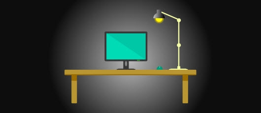 Computer on desk: How to get web design right