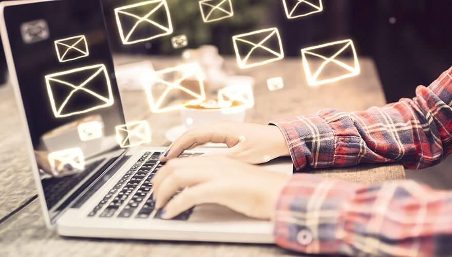 How to deal with email overload image