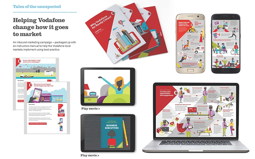 Awards case study: Vodafone aligns sales and marketing teams to engage senior decision-makers image