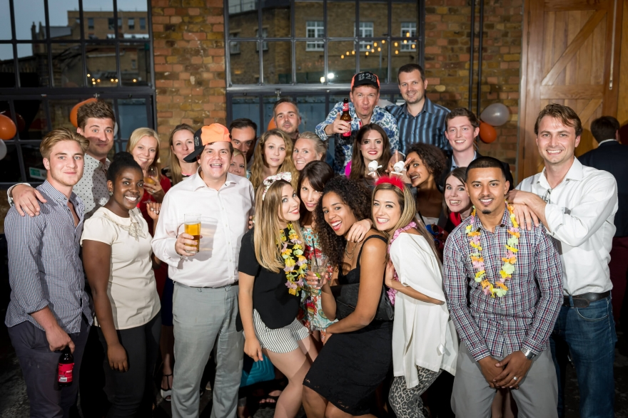 B2B Marketing team shot