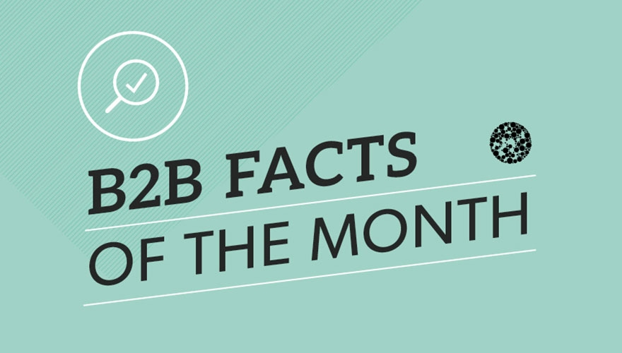 Infographic: B2B facts March 2016 image