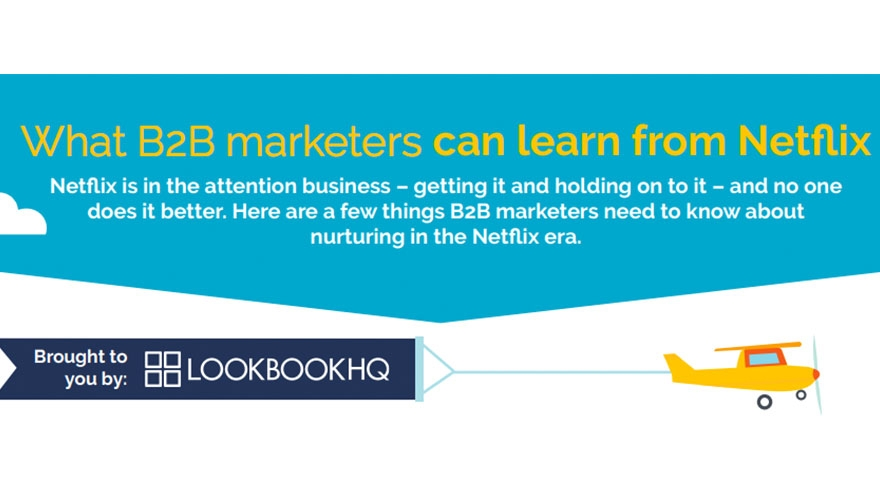 Infographic: What B2B marketers can learn from Netflix image