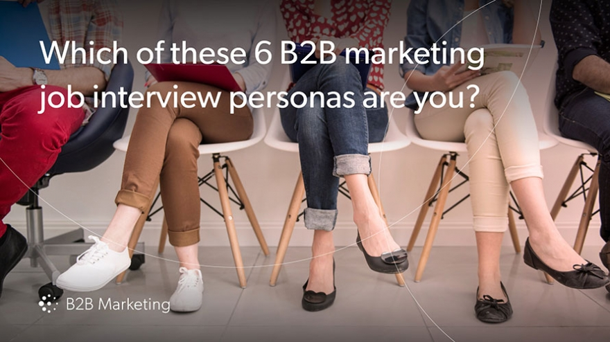 6 job interview personas in marketing: Which one are you? Image