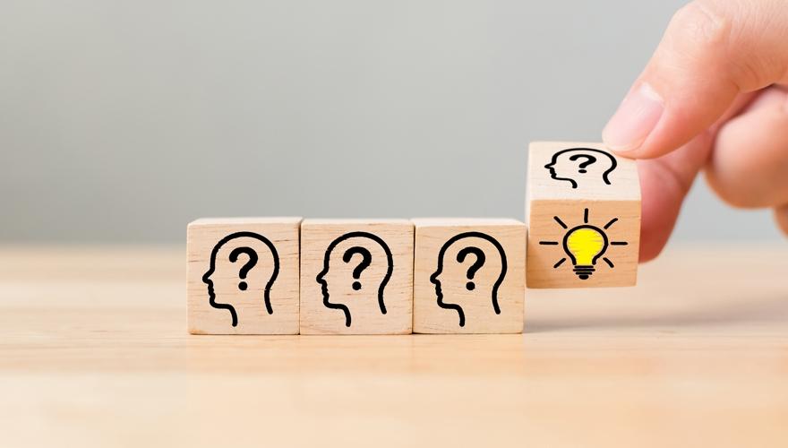 creative thinking blocks being unturned