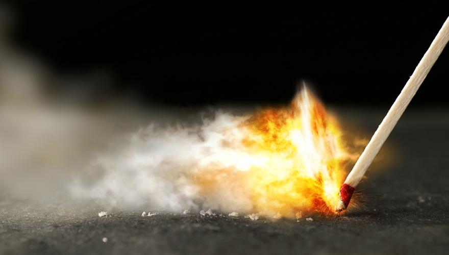 fire striking