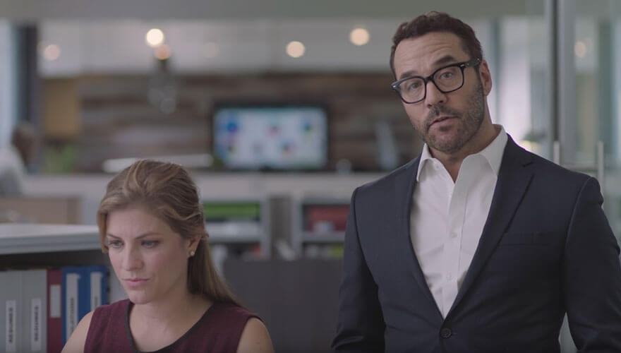 Jeremy Piven launches Mimecast email security video advertising campaign