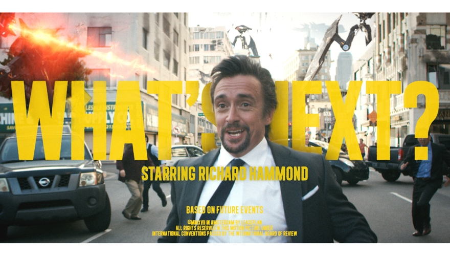 Richard Hammond launches global 'What's next' campaign for LeasePlan image