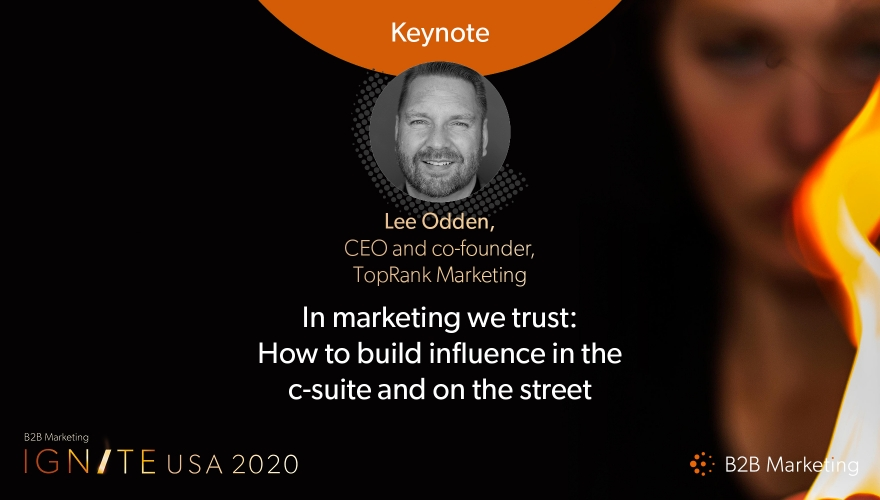 Ignite USA 2020 Keynote session: How to build influence