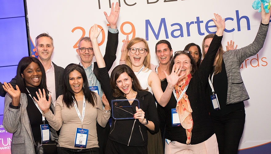 b2bmarketing.net - Winners of the B2B Marketing 2019 Martech Awards revealed