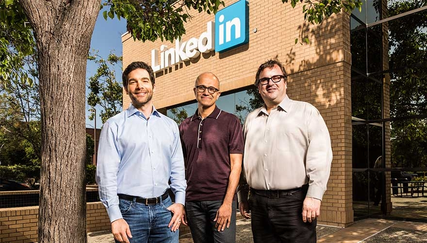 Microsoft to buy LinkedIn for $26.2 billion image