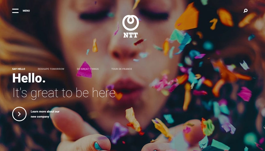 Why NTT looked to the past to unite 28 companies under one global brand image
