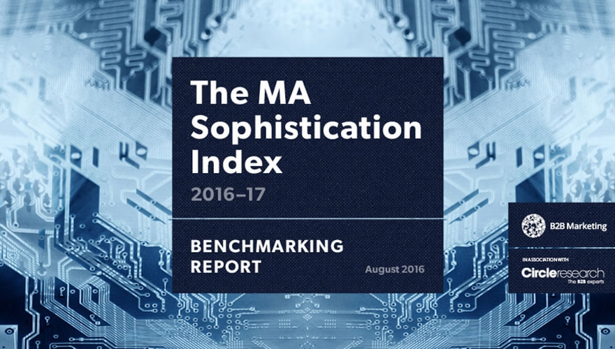 Over a third of marketers admit to 'basic' MA sophistication image