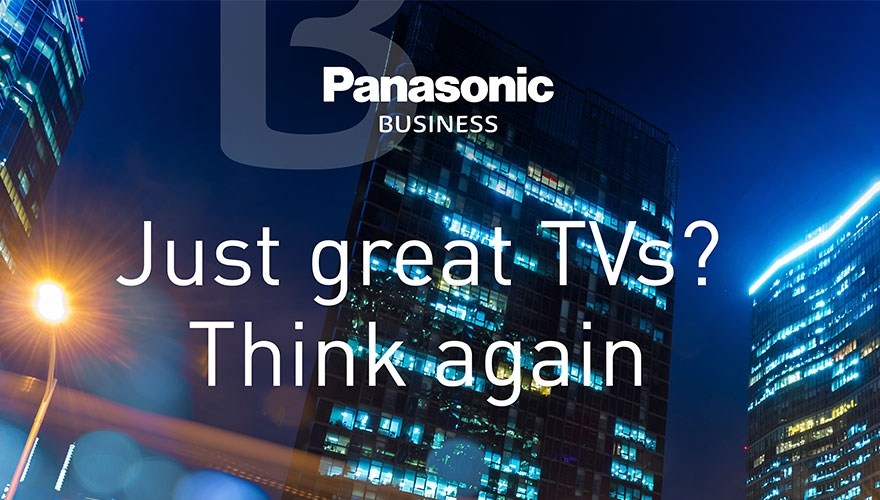 Panasonic launches digital-only 'Think again' campaign image