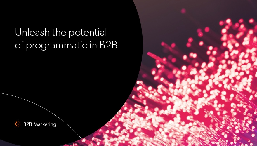 The potential of programmatic in B2B